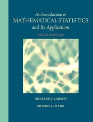 Introduction to Mathematical Statistics and Its Applications 5th edition 9780321693945 0321693949