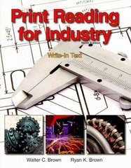 Print Reading for Industry 9th Edition 9781605253084 1605253081