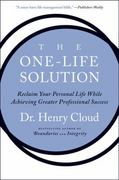 The One-Life Solution 1st Edition 9780061466434 0061466433