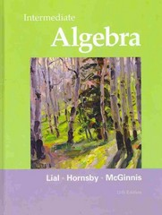 Intermediate Algebra 11th Edition 9780321715418 0321715411