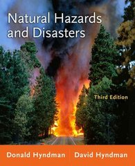 Natural Hazards and Disasters 3rd Edition 9780538737524 0538737522
