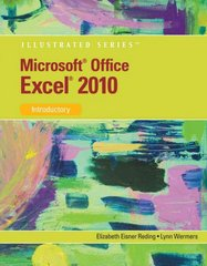 Microsoft Excel 2010 1st edition 9780538749299 0538749296