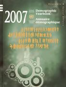 Demographic Yearbook/Annuaire Demographique 59th edition 9789210511025 9210511026