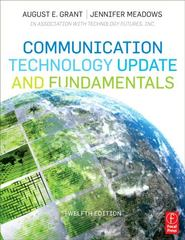 Communication Technology Update and Fundamentals 12th edition 9780240814759 0240814754