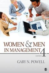 Women and Men in Management 1st Edition 9781483300153 1483300153