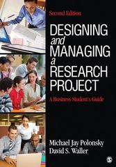 Designing and Managing a Research Project 2nd edition 9781412977753 1412977754