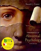Fundamentals of Abnormal Psychology (Loose Leaf) 6th edition 9781429263573 1429263571