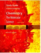 Study Guide for Moore/Stanitski/Jurs' Chemistry: The Molecular Science, 4th 4th edition 9781439049648 1439049645