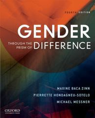 Gender Through the Prism of Difference 4th edition 9780199743025 0199743029