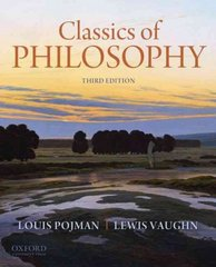 Classics of Philosophy 3rd Edition 9780199737291 0199737290