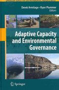 Adaptive Capacity and Environmental Governance 1st edition 9783642121937 3642121934