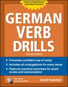 German Verb Drills, Fourth Edition 4th edition 9780071744713 0071744711