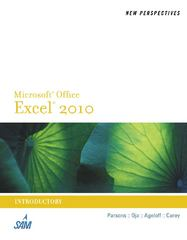 New Perspectives on Microsoft Excel 2010, Introductory 1st edition 9781133008842 1133008844