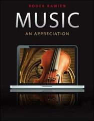Music: An Appreciation, with 9-CD set 10th edition 9780077433512 0077433513