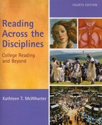 Reading Across the Disciplines (with MyReadingLab Student Access Code Card) 4th edition 9780205680184 0205680186