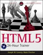HTML5 24-Hour Trainer 1st Edition 9780470647820 0470647825