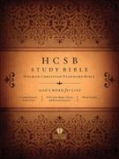 HCSB Study Bible, Jacketed Hardcover 0 9781586405069 1586405063