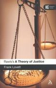 Rawls's 'A Theory of Justice' 1st Edition 9780826437815 0826437818