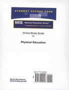 Access Code Card for the Online Tutorial for the National Evaluation Series Physical Education Test 1st edition 9780132099158 0132099152