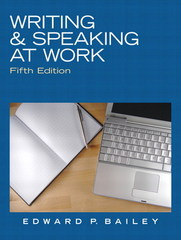 Writing & Speaking at Work 5th edition 9780136088554 0136088554