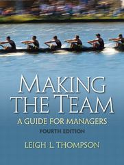 Making the Team 4th Edition 9780136090038 0136090036