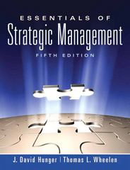 Essentials of Strategic Management 5th edition 9780136006695 0136006698