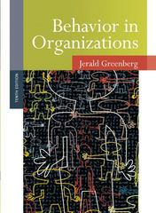 Behavior in Organizations 10th Edition 9780136090199 0136090192