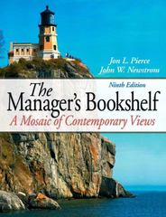 Manager's Bookshelf 9th Edition 9780136122500 0136122507