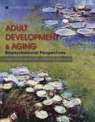 Adult Development and Aging 4th edition 9780470646977 0470646977