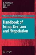 Handbook of Group Decision and Negotiation 0 9789048190966 9048190967
