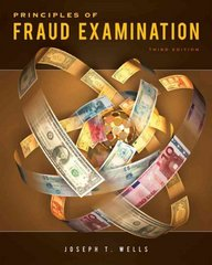 Principles of Fraud Examination 3rd Edition 9780470646298 0470646292