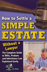How to Settle a Simple Estate Without a Lawyer 0 9781601386144 1601386141