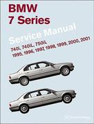 BMW 7 Series (E38) Service Manual: 1995, 1996, 1997, 1998, 1999, 2000, 2001 1st Edition 9780837616186 0837616182