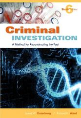 Criminal Investigation 6th Edition 9781422463284 1422463281