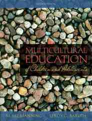 Multicultural Education of Children and Adolescents 5th edition 9780205592562 0205592562
