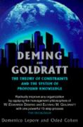Deming and Goldratt 1st Edition 9780884271635 0884271633