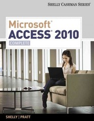 Microsoft Access 2010 1st edition 9780538748629 0538748621