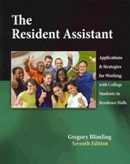 The Resident Assistant 7th Edition 9780757573958 0757573959