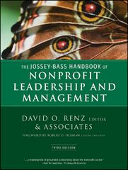 The Jossey-Bass Handbook of Nonprofit Leadership and Management 3rd Edition 9780470392508 0470392509