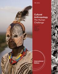 Cultural Anthropology 13th edition 9780495811770 0495811777