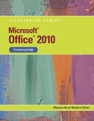 Microsoft Office 2010 1st Edition 9781133169840 1133169848