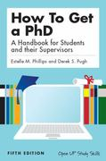 How to get a PhD 5th Edition 9780335242023 0335242022