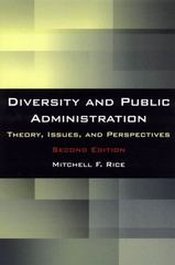 Diversity and Public Administration 2nd edition 9780765626332 0765626330