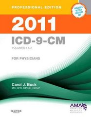 2011 ICD-9-CM, for Physicians, Volumes 1 and 2 Professional Edition (Spiral Bound) 1st edition 9781437702101 1437702104
