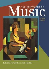 The Enjoyment of Music 11th Edition 9780393935202 0393935205