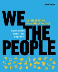 We the People 8th edition 9780393935233 039393523X