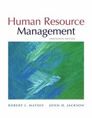 Human Resource Management 13th Edition 9780538453158 053845315X