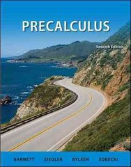 Student Solutions Manual Precalculus 7th edition 9780077297541 0077297547