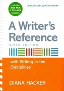 Writer's Reference with Help for Writing Across the Disciplines with 2009 MLA and APA Updates & Research Pack 6th edition 9780312668082 0312668082