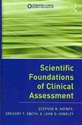 Scientific Foundations of Clinical Assessment 1st Edition 9781136813481 1136813489